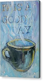 Smell The Coffee Acrylic Print