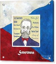 Smetana Acrylic Print by Paul Helm