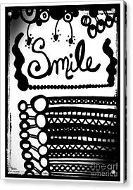 Smile Acrylic Print