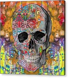 Smile Skull Acrylic Print
