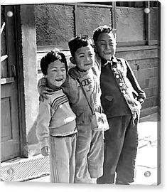 Smiles From Korea Year 1955 Acrylic Print