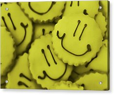 Smiley Face Acrylic Print by JAMART Photography
