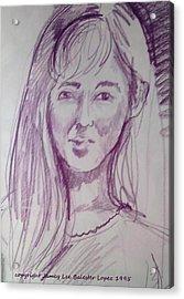 Smiling Eyes Acrylic Print by Jamey Balester