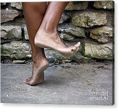 Smiling Feet Acrylic Print