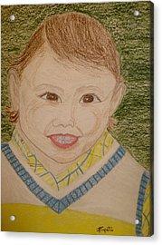Smiling Acrylic Print