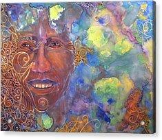 Smiling Muse No. 1 Acrylic Print