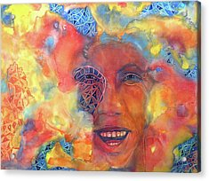 Smiling Muse No. 2 Acrylic Print