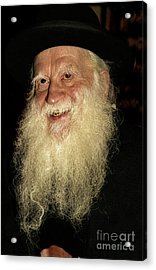Smiling Picture Of Rabbi Yehuda Zev Segal Acrylic Print