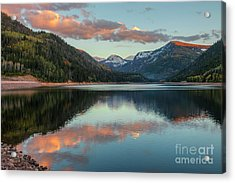 Smith And Morehouse Sunset Acrylic Print