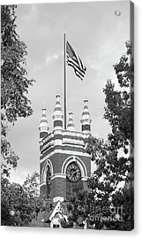 Smith College College Hall Acrylic Print by University Icons