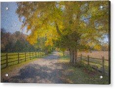 Smith Farm October Glory Acrylic Print