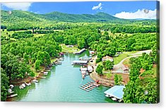 Smith Mountain Lake, Virginia. Acrylic Print