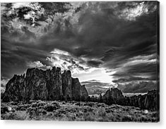 Smith Rock Fury Acrylic Print