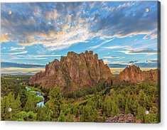 Smith Rock Acrylic Print