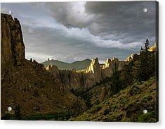 Smith Rock Sky Acrylic Print