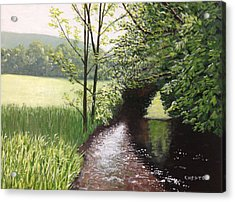 Smith Stream Acrylic Print