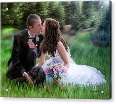 Smith Wedding Portrait Acrylic Print