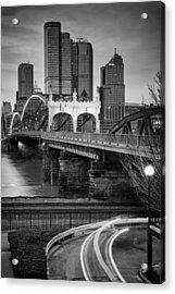 Smithfield Street Bridge 7 Acrylic Print by Emmanuel Panagiotakis