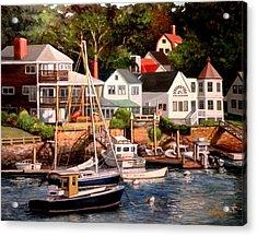 Smiths Cove Gloucester Acrylic Print