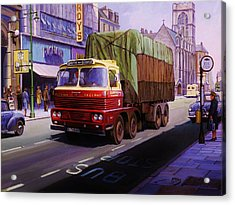 Smith's Scammell Routeman II Acrylic Print
