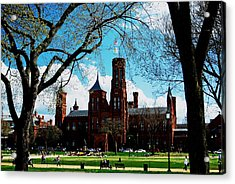 Smithsonian In The Spring Acrylic Print