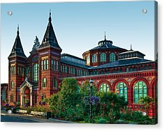 Smithsonian's Arts And Industries Building Acrylic Print