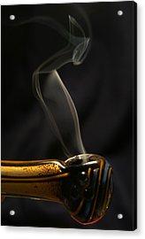 Smoke Diver Acrylic Print