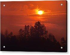 Smoke-filled Sky Acrylic Print
