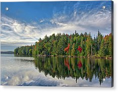 Smoke Lake Acrylic Print