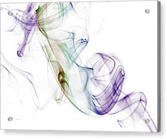 Smoke Seahorse Acrylic Print