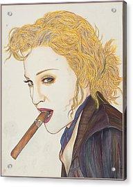 Smoke Signals Acrylic Print by Joseph Lawrence Vasile
