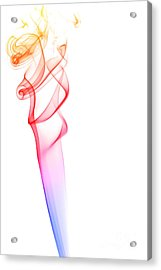 smoke XXXV Acrylic Print