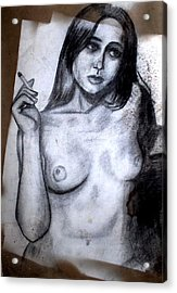Smoker Acrylic Print