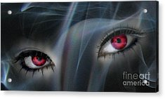 Smokey Eyes Acrylic Print