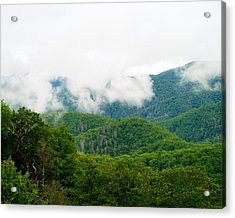 Smokey Mountain Afternoon Acrylic Print by Robert Clayton