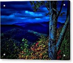 Smokey Mountain Still Life Acrylic Print by William Jones