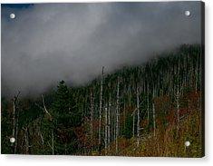 Smokey Mountains Acrylic Print by James Jones