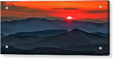Smokies Sunset Acrylic Print