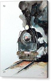 Smokin Acrylic Print by Greg Clibon
