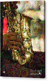 Smokin Jazz Acrylic Print