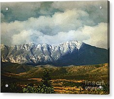 Smoky Clouds On A Thursday Acrylic Print by RC deWinter