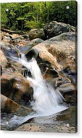 Smoky Mountain Flow Acrylic Print by Kristin Elmquist