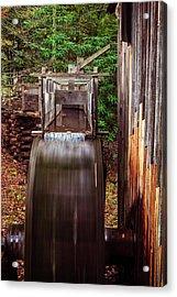 Smoky Mountain Mill Acrylic Print by Andrew Soundarajan
