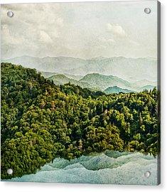 Smoky Mountain Reflections Acrylic Print
