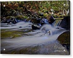 Acrylic Print featuring the photograph Smoky Mountain Stream by Douglas Stucky