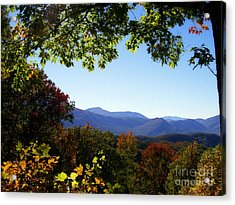 Smoky Mountains Acrylic Print