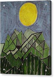 Smoky Mountains Acrylic Print by William Douglas
