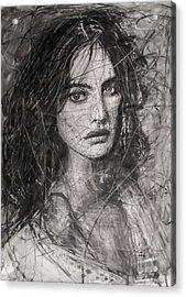 Smoky Noir... Ode To Paolo Roversi And Natalia Vodianova  Acrylic Print