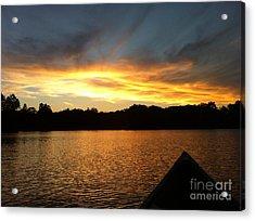 Smoldery Sunset Acrylic Print