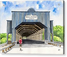 Smolen-gulf Bridge Acrylic Print